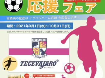 パーマリンク先: テゲバジャーロ宮崎 応援フェア